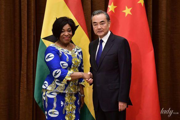 Министр иностранных дел и региональной интеграции Ганы Ширли Айоркор_1