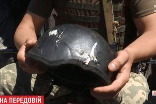 Родился в шлеме: украинский военный на один миллиметр разминулся со смертью от пули снайпера