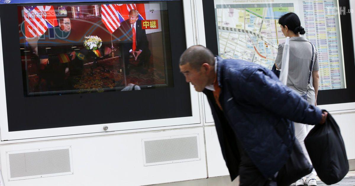 Оплески та хвилювання: як відреагували пересічні глядачі на зустріч лідерів США та КНДР