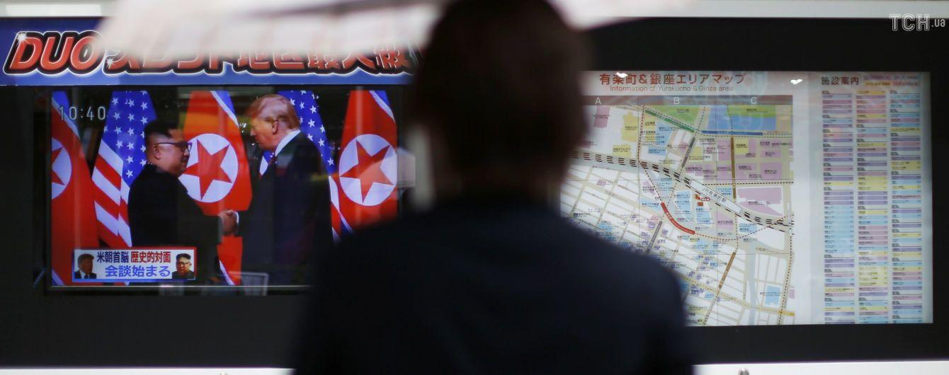 У КНДР натовпи людей зібралися на вулиці для перегляду саміту у Сингапурі