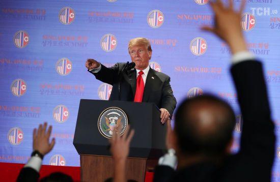 Трамп вважає саміт США-КНДР кроком у бік від ядерної катастрофи