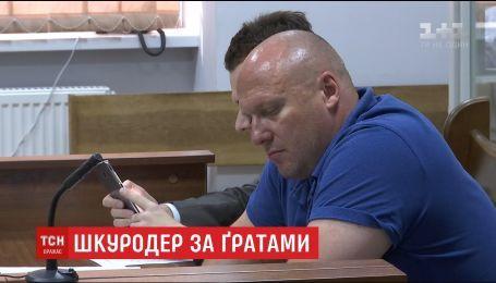 Олега Святогора, который открыто убивал животных, заключили в СИЗО на два месяца