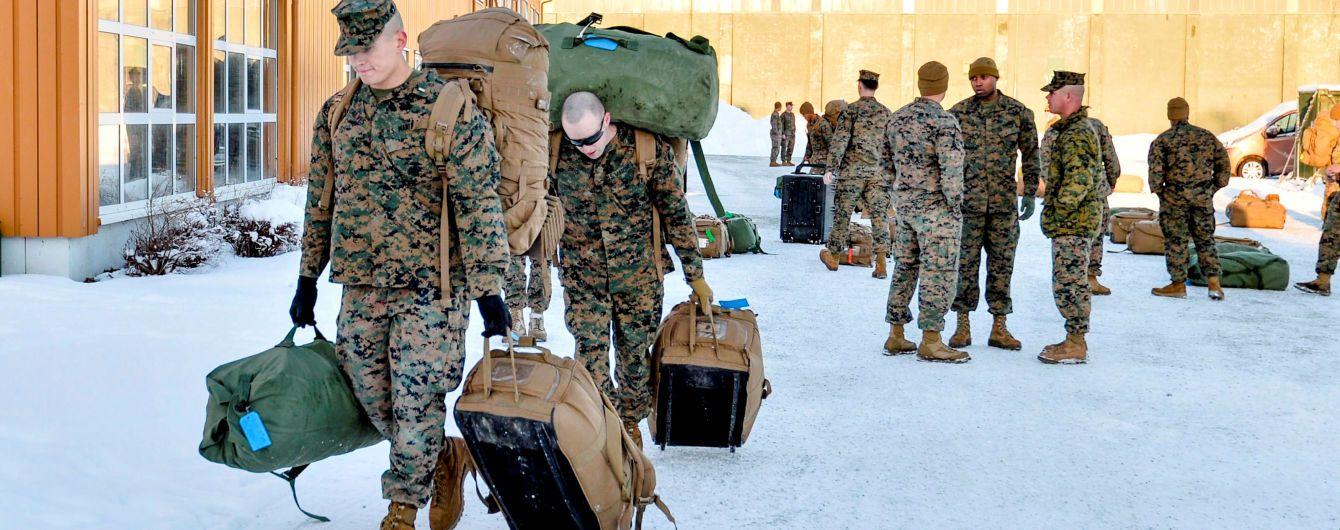 Норвегія просить США подвоїти військовий контингент через загрозу з боку РФ