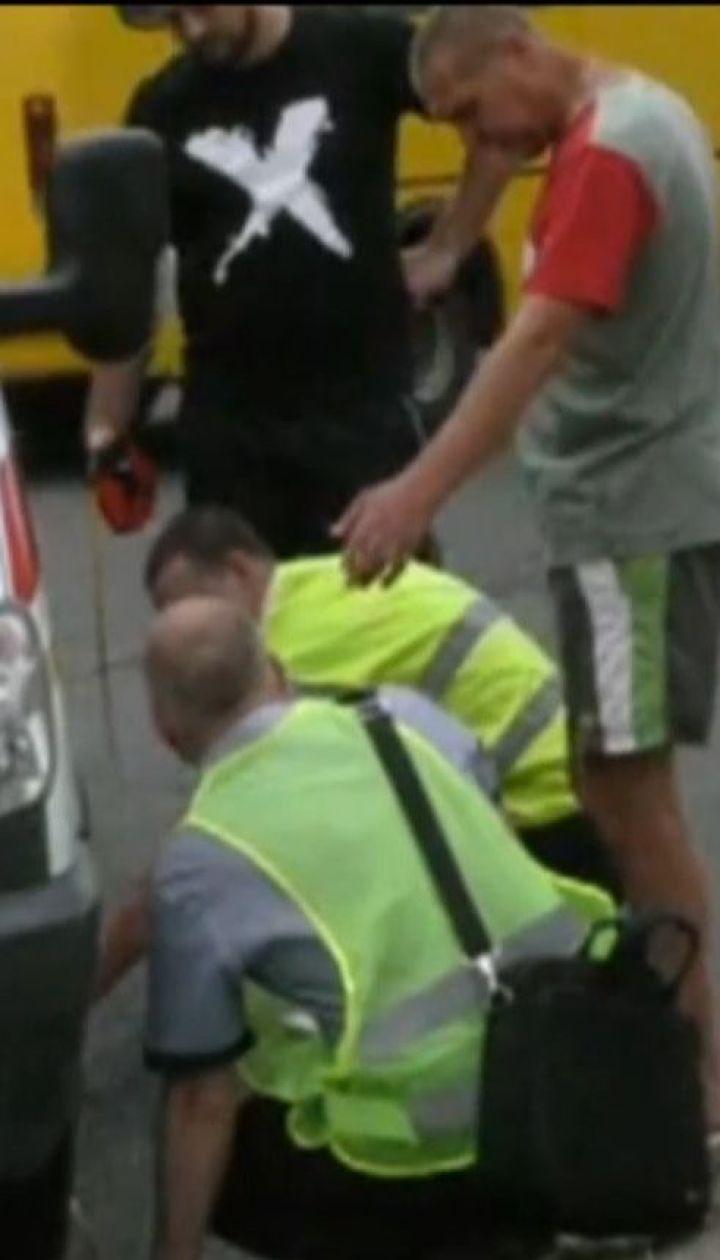 Карета скорой сбила пенсионерку на пешеходном переходе в Херсоне