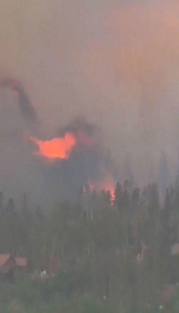 В Колорадо вспыхнула новая лесной пожар