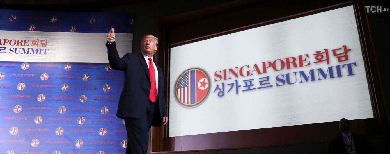 У Сингапурі назвали вартість проведеного саміту між Трампом та Кім Чен Ином