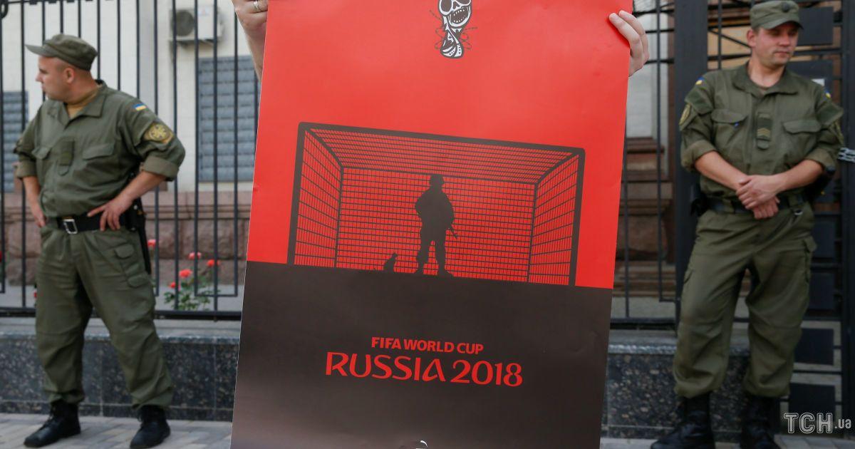 Акция состоялась под посольством РФ @ Reuters