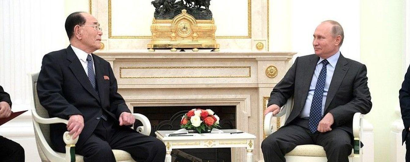 Ким Чен Ын передал личное послание Путину