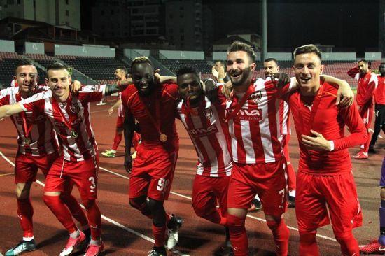 Суд подтвердил дисквалификацию лучшего футбольного клуба Албании на 10 лет