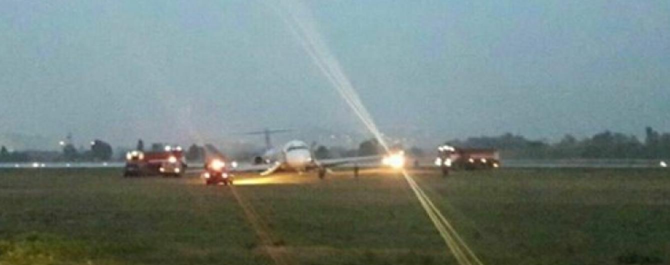 """НАБУ отрицает, что из-за его обысков произошла авария самолета в аэропорту """"Киев"""""""