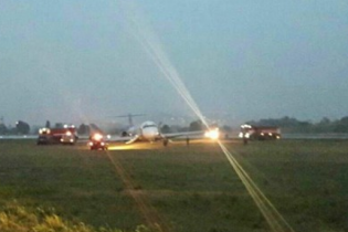 """НАБУ заперечує, що через його обшуки сталася аварія літака в аеропорту """"Київ"""""""