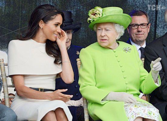 Меган Маркл оконфузилася під час свого першого офіційного заходу з Єлизаветою II