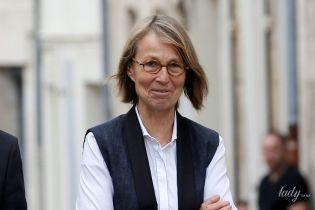 Ей идет классика: министр культуры Франции Франсуаз Ниссен продемонстрировала новый деловой образ