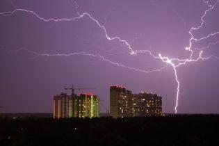 Україну накриють грози та шквали – синоптики оголосили штормове попередження