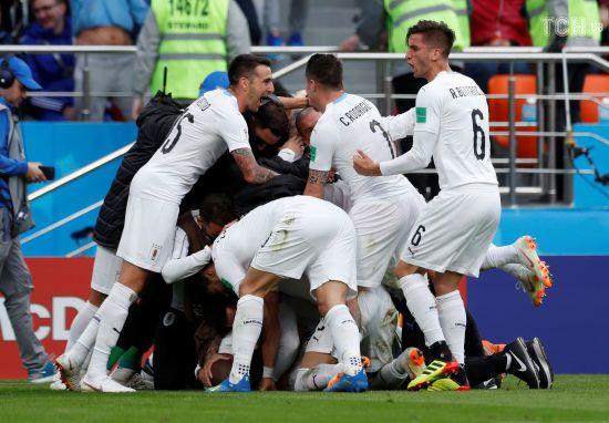 ЧС-2018: Уругвай на останній хвилині матчу здобув перемогу над Єгиптом