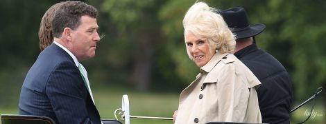 Элегантная герцогиня Корнуольская Камилла прокатилась на карете