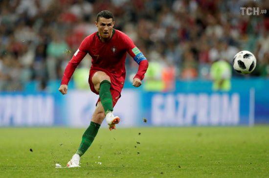 Роналду у суперматчі з Іспанією повторив рекорд легендарного футболіста