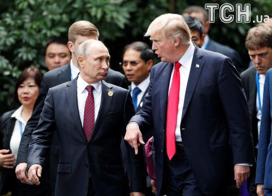 Трамп підкреслив впевненість щодо втручання Росії у вибори в США