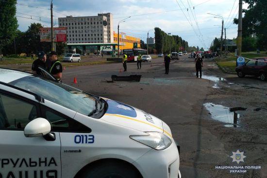 У прокуратурі розповіли деталі вибуху авто у Черкасах