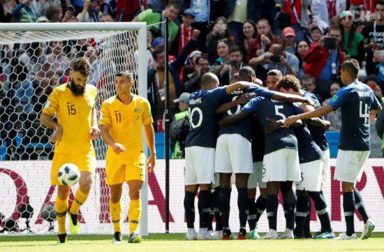 ЧС-2018: Франція видряпала перемогу над Австралією завдяки нововведенням