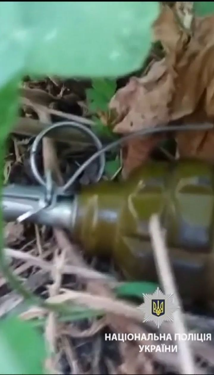 В Харькове неизвестные подложили боевые гранаты под военкомат