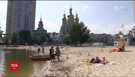 Через дощі кишкову паличку знайшли в озерах Києва