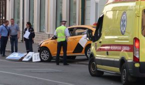 У Москві таксист в'їхав у пішоходів, серед постраждалих - громадянки Мексики
