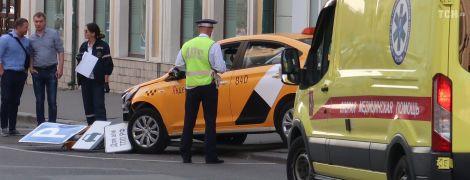 В Москве таксист въехал в пешеходов, среди пострадавших - гражданки Мексики