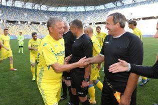 Збірна України перемогла Грузію у матчі легенд
