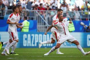 ЧМ-2018. Молниеносный удар со штрафного принес Сербии победу над Коста-Рикой
