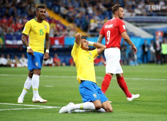 Чергова сенсація ЧС-2018: Бразилія не зуміла здолати Швейцарію