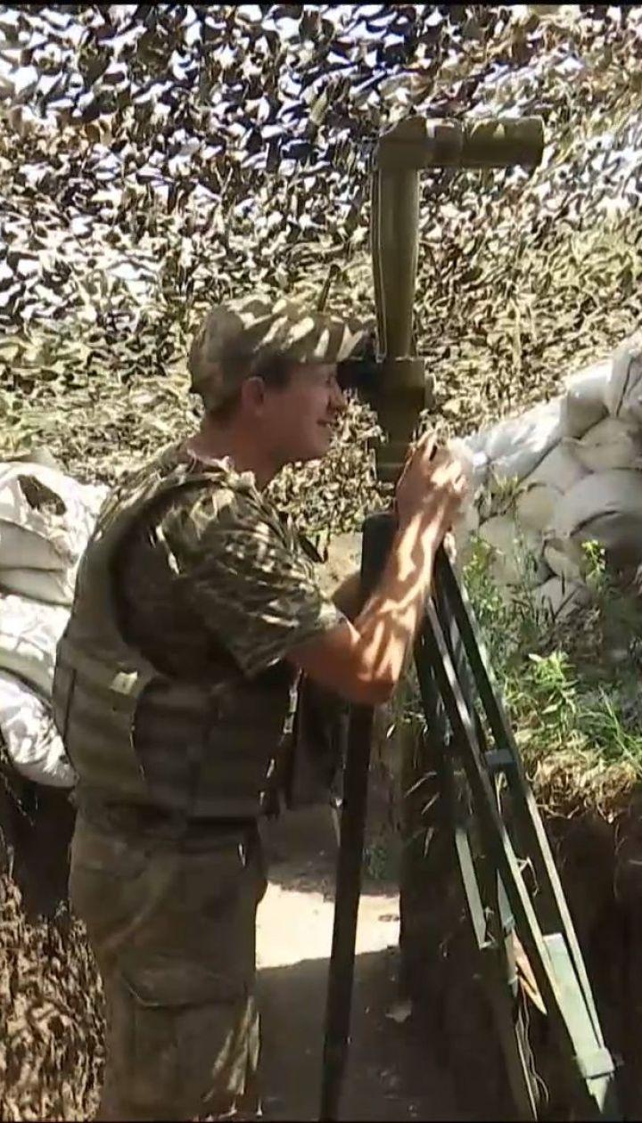 Фронтовые сводки: боевики сократили количество обстрелов