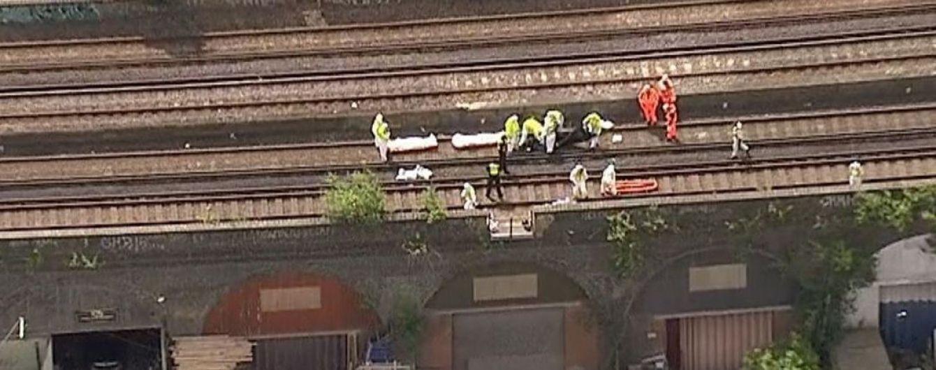 В Лондоне нашли трех мертвых людей на железнодорожных путях