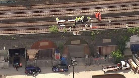 У Лондоні знайшли трьох мертвих осіб на залізничних коліях