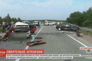 Сон за кермом: двоє людей загинули через аварію на Житомирщині