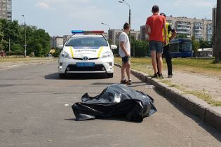 В Киеве во время поездки на велосипеде умер 74-летний мужчина
