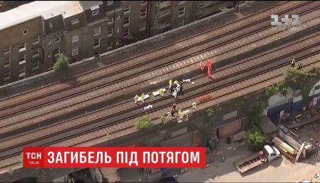 В Лондоне поезд задавил три человека