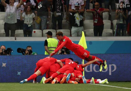 ЧС-2018. Англія у доданий час вигризла перемогу у Тунісу
