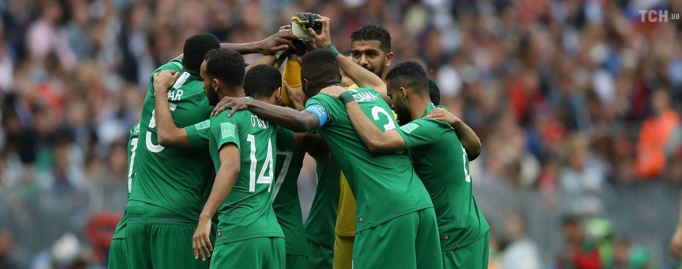У самолета сборной Саудовской Аравии загорелся двигатель во время перелета на матч ЧМ-2018