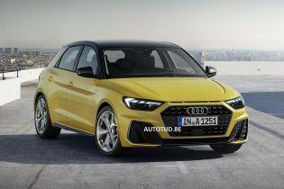 Audi A1 Sportback показался в новом виде