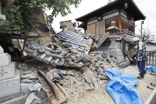 У Японії збільшилась кількість загиблих унаслідок землетрусу