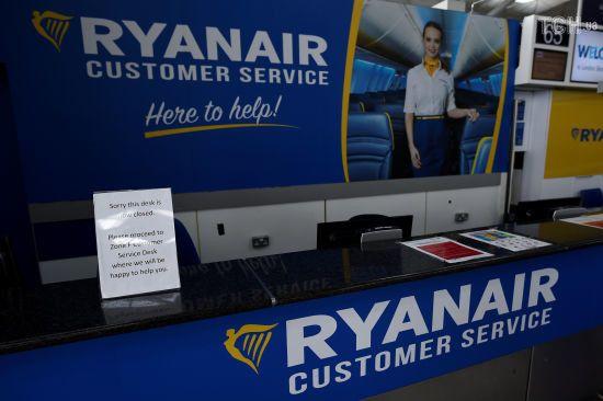 Ryanair скасує майже 300 щоденних рейсів через страйк бортпровідників