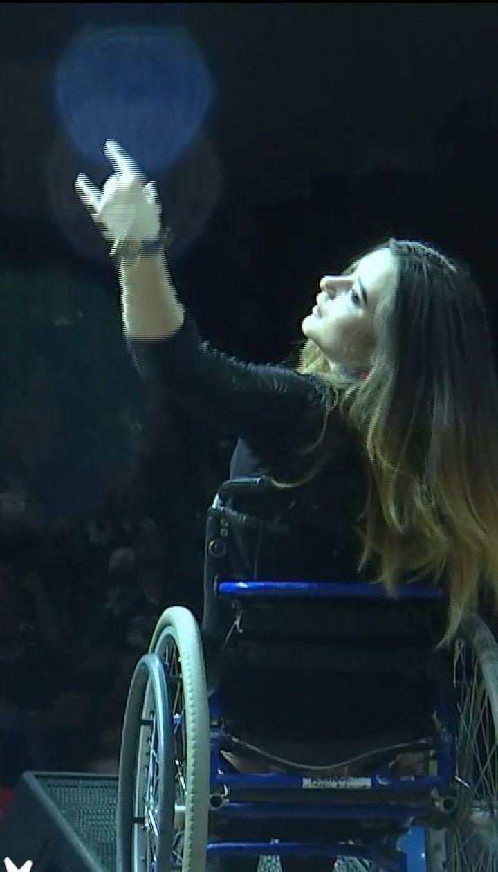 Настанова кумира і велика сцена: Шоптенко допомогла здійснити мрію дівчинки з інвалідністю