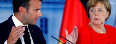 Захист кордонів, бюджет Єврозони: Меркель і Макрон досягли єдності щодо ідей реформування ЄС