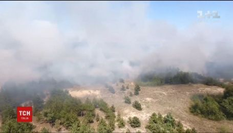 На Запоріжжі сталася пожежа поблизу теплоелектростанції