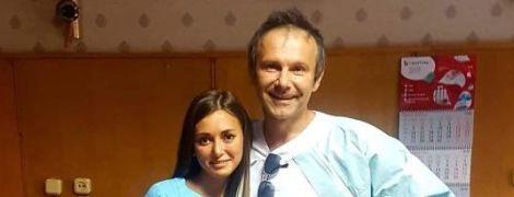 Святослав Вакарчук посетил детскую больницу в Одессе
