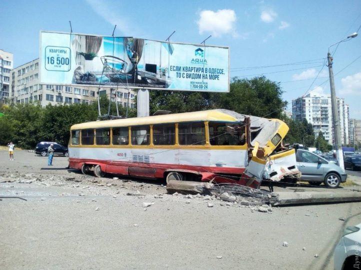 Трамвай, ДТП, авария