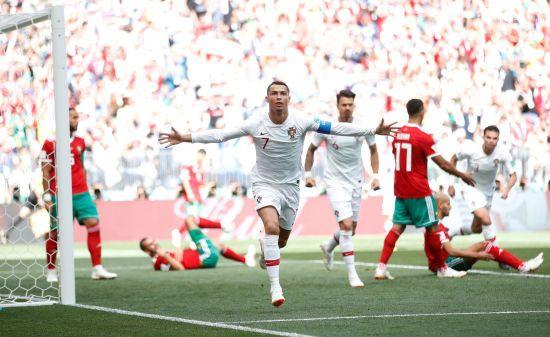 ЧС-2018: швидкий гол Роналду приніс важливу перемогу збірній Португалії у грі з Марокко