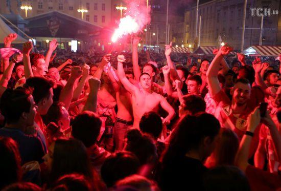 П'яний російський правоохоронець намагався спровокувати бійку з фанатами збірної Хорватії на ЧС-2018