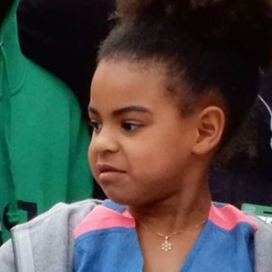 У Мережі з'явилось відео, як донька Бейонсе та Джей Зі відреагувала на знімки оголених батьків